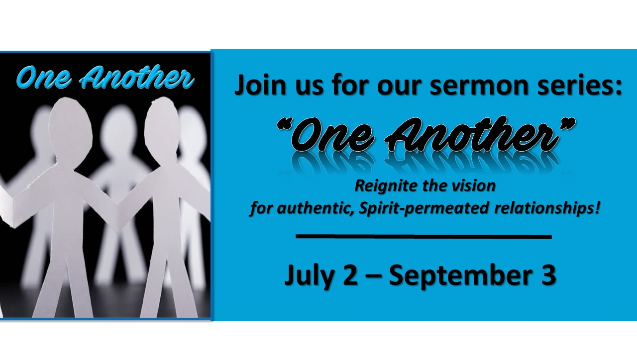 "September 3, 2017 ""Serve One Another"""
