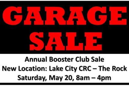 Booster Club Garage and Bake Sale