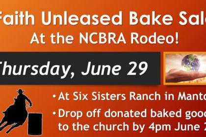 Faith Unleashed Rodeo Bake Sale