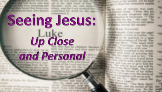 "April 8, 2018 - ""Seeing Jesus: Open Our Eyes!"""