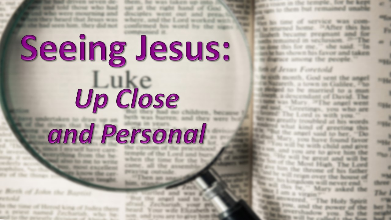 "March 25, 2018 - ""Seeing Jesus: The King is Coming"""
