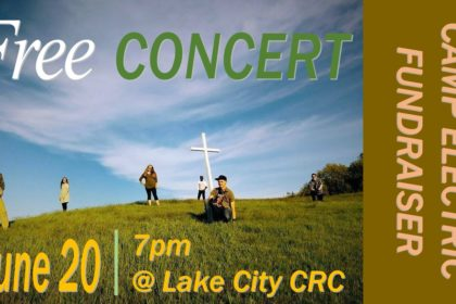 Camp Electric Fundraiser Concert & Bake Sale
