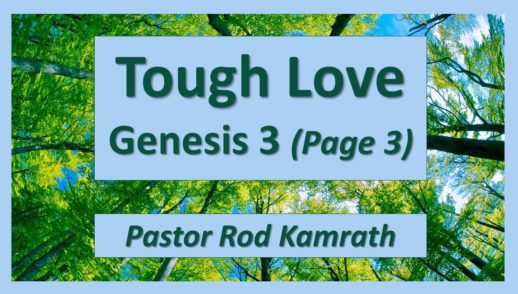 July 8, 2018 - Tough Love