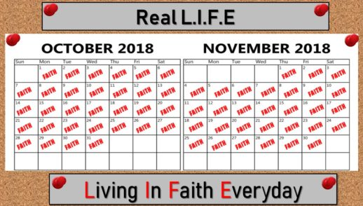 October 14, 2018   Faith Risks