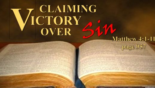 January 20, 2019 Claiming Victory Over Sin