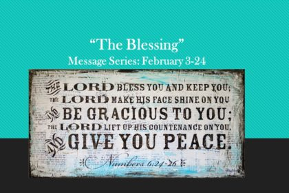 February 24, 2019 May the Lord Give You Peace