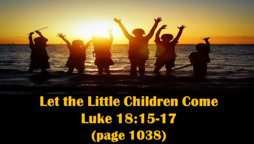 May 12, 2019 Let the Little Children Come